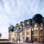 NEOCLASSICAL ARCHITECTURE IN TAN AN